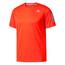 adidas Response Hardloopshirt korte mouwen Heren rood